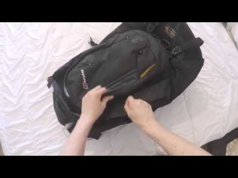 4f852ff20222 Backpack or Suitcase  Inc. review of Berghaus Jalan 55 + 15L - YouTube