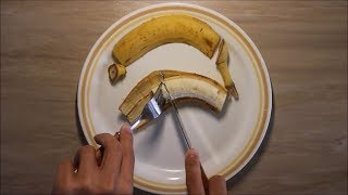 $16,000 Learning To Eat A Banana