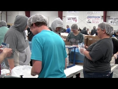 Feed My Starving Children Brings More Than 600 Volunteers To Bagley