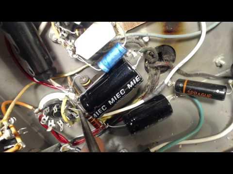 Vacuum Tube PA Amplifier Video #28 - New Capacitors