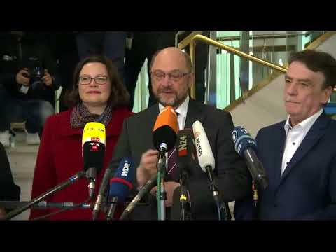 """""""Herr Schulz, Sie sind ein Volksverräter"""" - DIE RECHTE stört Pressekonferenz in Dortmund"""