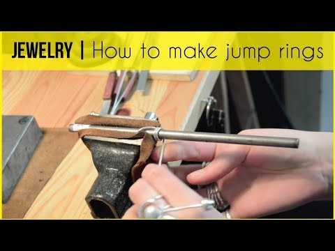 AGNES BIJOUTERIE | How to make your own jump rings