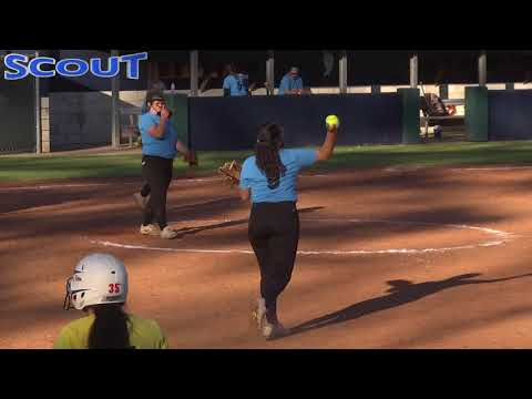 Game 3 2018 Scout Softball Winter Nationals Yellow VS Blue