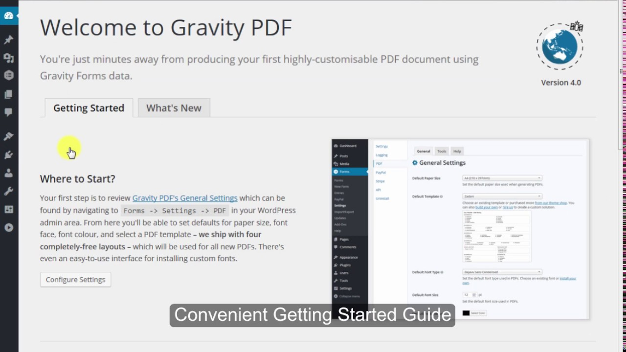 Gravity PDF – WordPress plugin | WordPress org