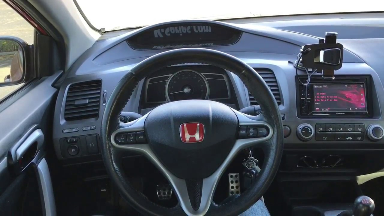 2006 honda civic si interior look youtube. Black Bedroom Furniture Sets. Home Design Ideas