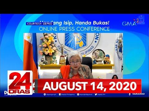 24 Oras Express: August 14, 2020 [HD]