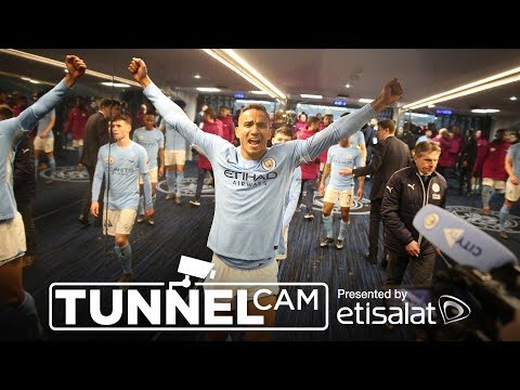 TUNNEL CAM | Manchester City 5-1 Leicester City