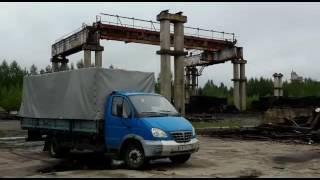 видео Демонтаж кранов на металлолом
