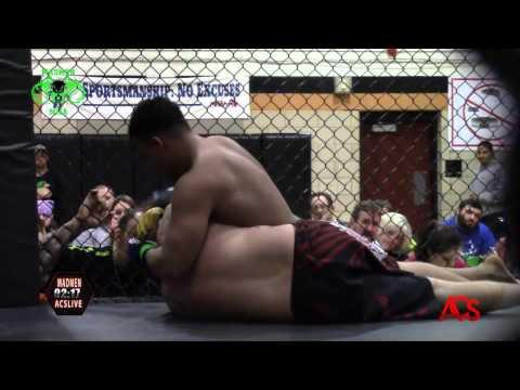 ACSLIVE.TV Presents Madmen MMA Night Of Champions Paul Hawkins vs Leonardo Gonzalez