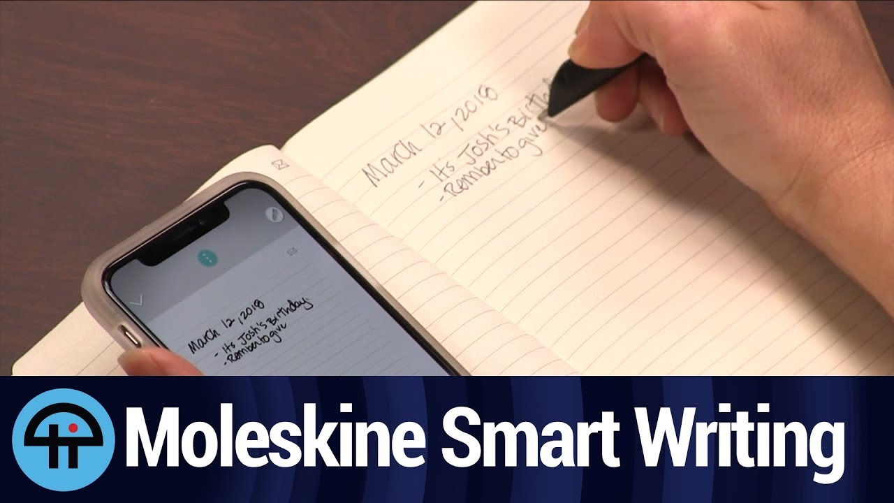 Moleskine Smart Writing System Review Youtube