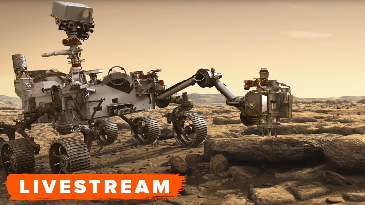 WATCH: Mars Perseverance Rover Launch Briefing - Livestream