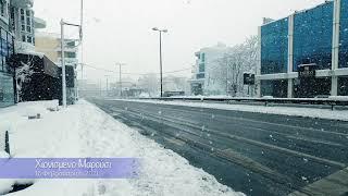 Χιονιάς, 16 Φεβρουαρίου 2021