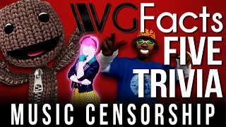 Music Censorship - VGFacts Five Trivia Feat. Yungtown