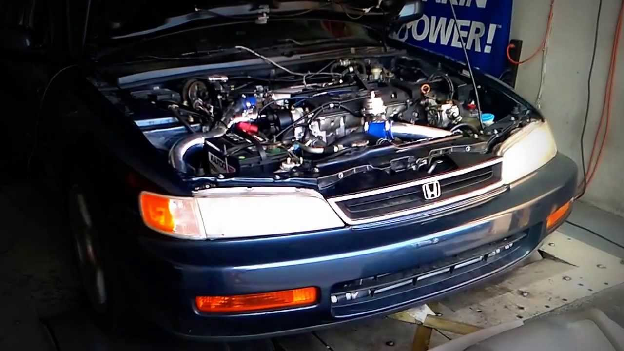 1997 G22 Accord Turbo 15 Lbs Youtube