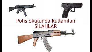 Polis okulunda kullanılan silahlar ve özellikleri ( Pomem Pmyo Paem)