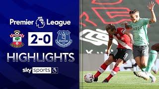 Saints end 10-man Toffees' unbeaten run | Southampton 2-0 Everton | Premier League Highlights