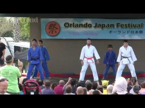 Sasaki-Dojo Judo demonstration - Orlando Japan Festival 2015