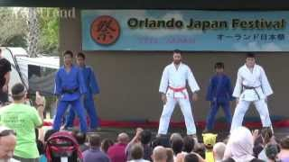 Sasaki-Dojo Judo demonstration - Orlando Japan Festival 2015