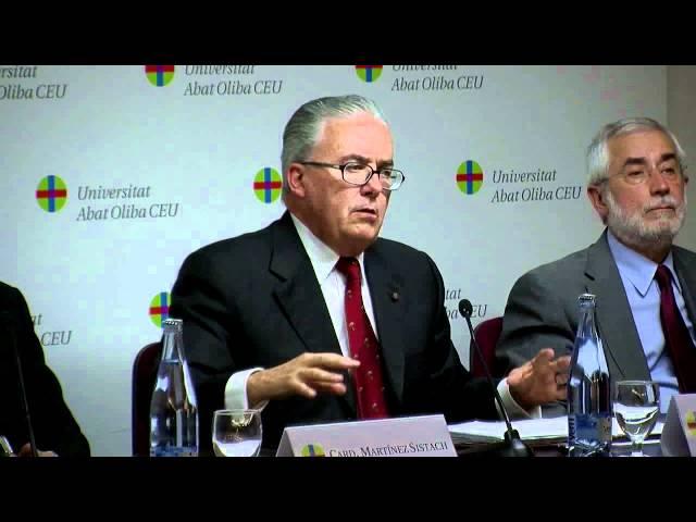 Clausura del Seminario Internacional a cargo del Dr. Guzmán Carriquiry