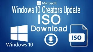 Windows 10 Creators Update ISO Download From Microsoft Server│Bangla Tutorial│With English Subtitle