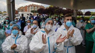 Covid-19 : le nombre de décès continue de baisser en Espagne