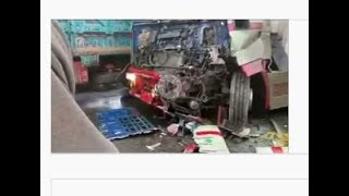 Bhalwal accident video punjab college girl van rare video