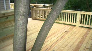 Gambar cover Out Bak Decks  Large Deck Springfield, Illinois (217) 546-9228