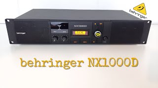 My New DEAD Behringer NX1000D DSP Pro Amplifier Full Review