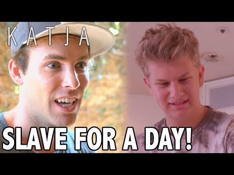 SLAVE FOR A DAY! | KATJA COMEDY SKETCHES
