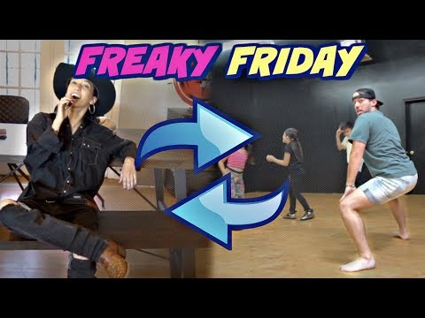 WE SWAPPED LIVES FOR A DAY!! (Freaky Friday)