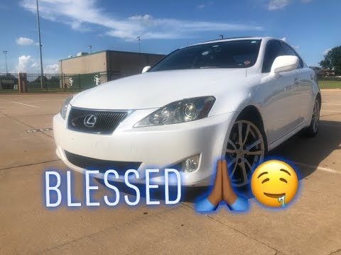 MY NEW 2008 LEXUS IS250 REVIEW!!!!