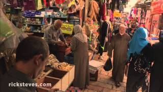 Jerusalem, Israel: Muslim Quarter(More info about Rick's travels to Israel: http://www.ricksteves.com/watch-read-listen/video/tv-show/tv-specials/holy-land Jerusalem's Muslim Quarter is within the ..., 2015-08-19T15:00:01.000Z)
