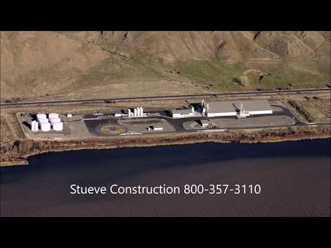 Fertilizer Storage Buildings and Port Terminals | Stueve Construction