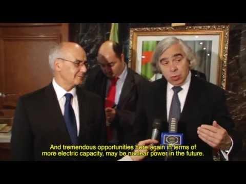 Secretary of Energy Ernest Moniz visits Algiers 06 1-2, 2014
