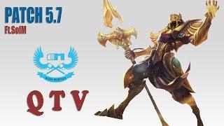 Stream cá nhân QTV - Azir ft. SofM - LeeSin [08/05/2015]