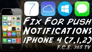 Video How To Fix Push Notifications / iMessage on Bypassed iPhone 4 download MP3, 3GP, MP4, WEBM, AVI, FLV Juni 2018