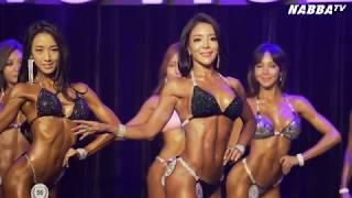 [나바TV] 2017 NABBA WFF ASIA NOVICE FINALS - WOMEN
