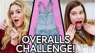 OVERALLS OUTFIT CHALLENGE?! w/ Chloe Lukasiak & Marissa Rachel!