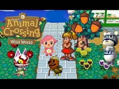 Animal Crossing Wild World Cornimer S Acorn Festival Youtube