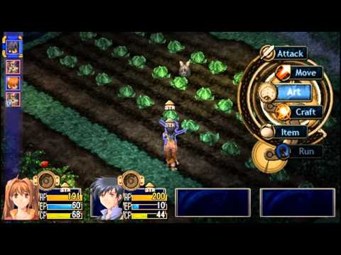 Legend of Heroes: Trails in the Sky Boss 1: Giant Crop Muncher - Migyaaaw!