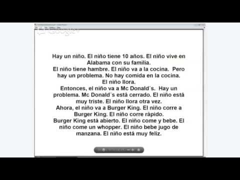 Short Story from Spanish Class - YouTube