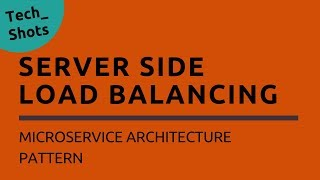 Server Side Load Balancing | Microservices Architecture Pattern | Tech Primers