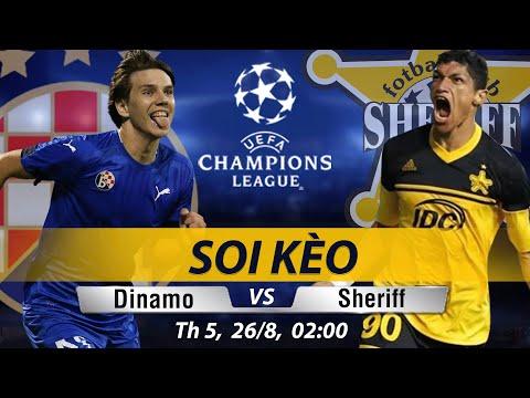 Soi Kèo, Nhận định SHERIFF vs DINAMO ZAGREB | Trực Tiếp vòng Playoff Champions Leage 2h 26/08
