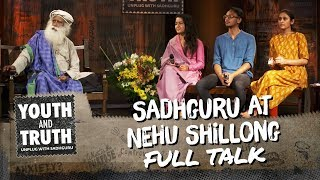 Sadhguru was at North-Eastern Hill University, Shillong on Septembe...