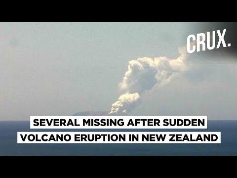 White Island Volcano | At Least 100 Tourists Near Volcano : New Zealand PM​