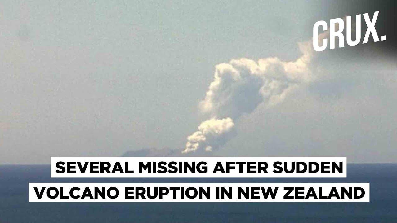 White Island Volcano | At Least 100 Tourists Near Volcano : New Zealand PM