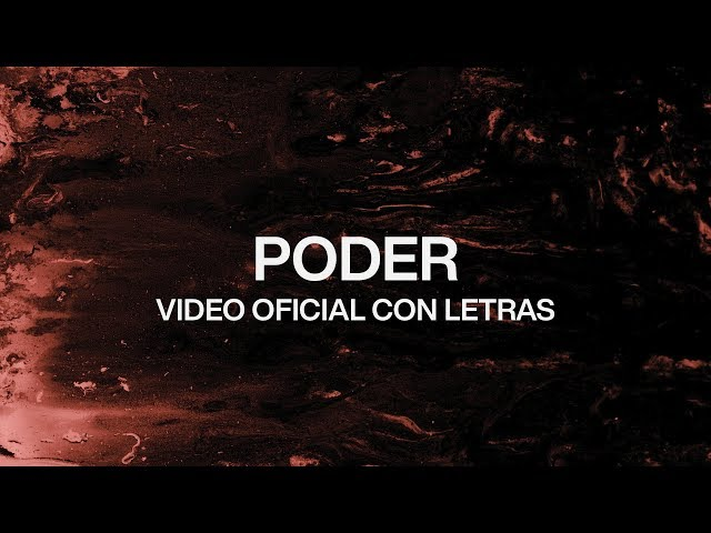 Poder (Power) | Spanish | Video Oficial Con Letras | Elevation Worship