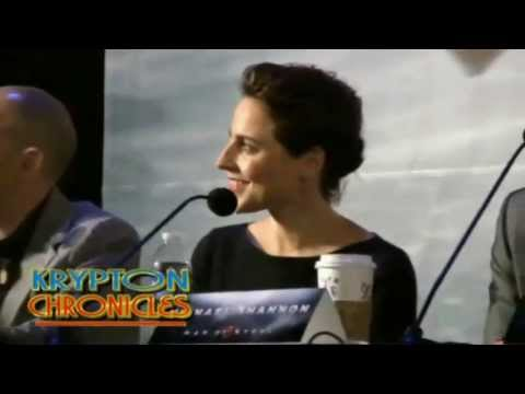 Antje Traue - MoS Press Conference
