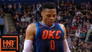 Toronto Raptors vs Oklahoma City Thunder 1st Half Highlights / March 18 / 2017-18 NBA Season