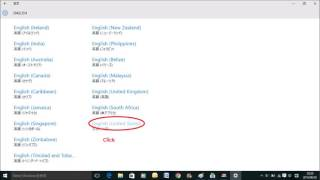 Windows 10 Japanese to English